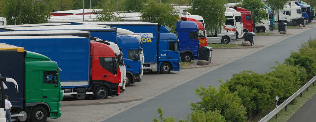 Lkw-Ankauf-Parkplatz